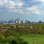 (The view from Primrose Hill. London. England