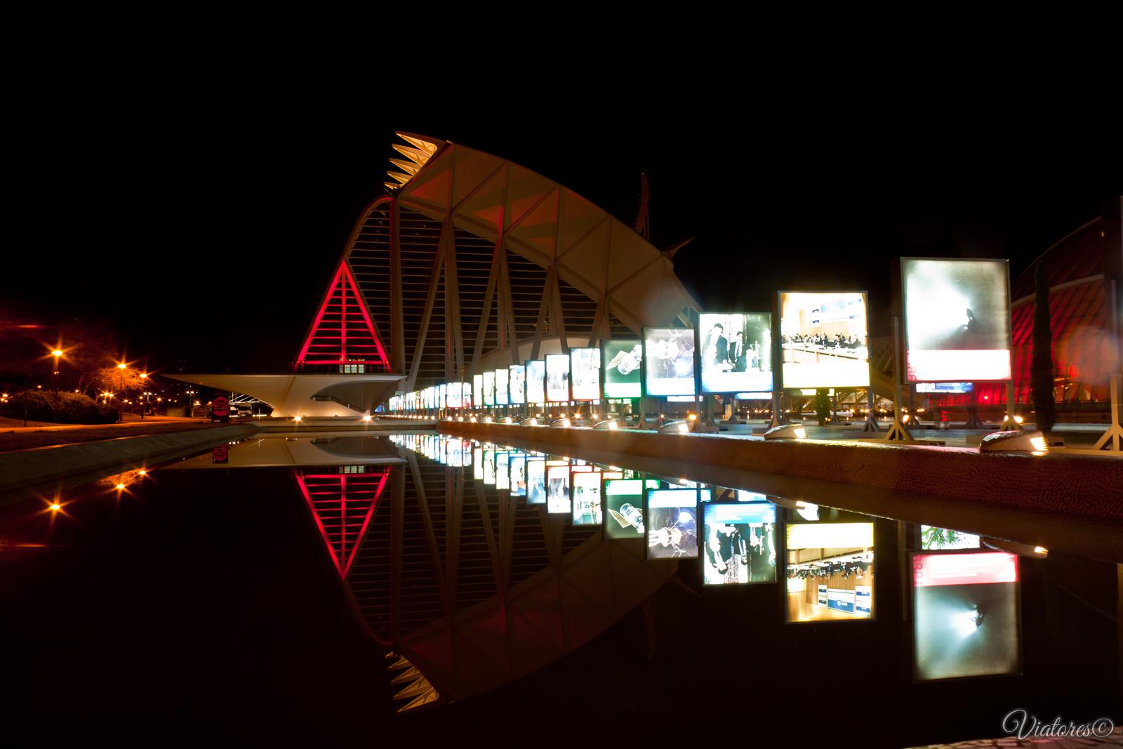 Museu de les Ciències Príncipe Felipe. Valencia. Spain