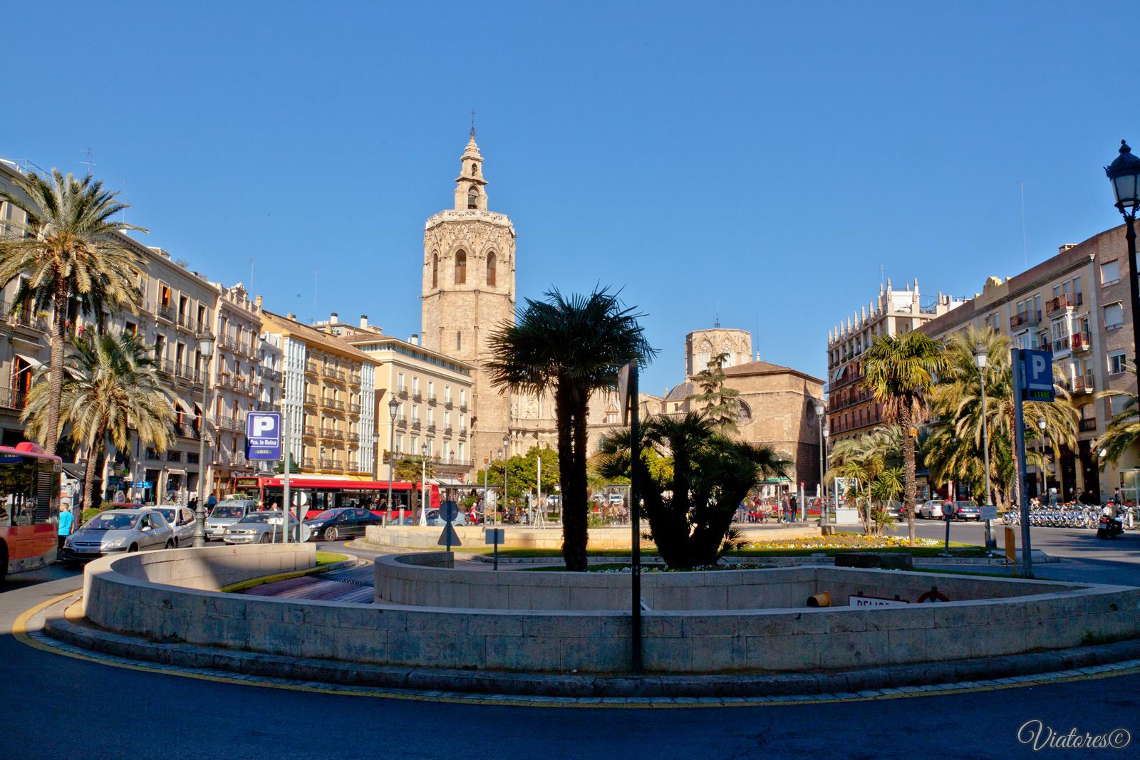 Plaça de la Reina. Valencia. Spain