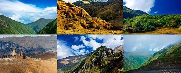 TOP-10 Places Of Russia. Ingushetia
