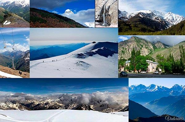 TOP-10 Places Of Russia. Kabardino-Balkariya