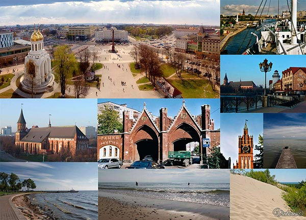 TOP-10 Places Of Russia. Kaliningrad