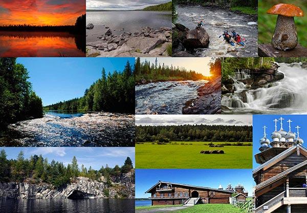 TOP-10 Places Of Russia. Karelia