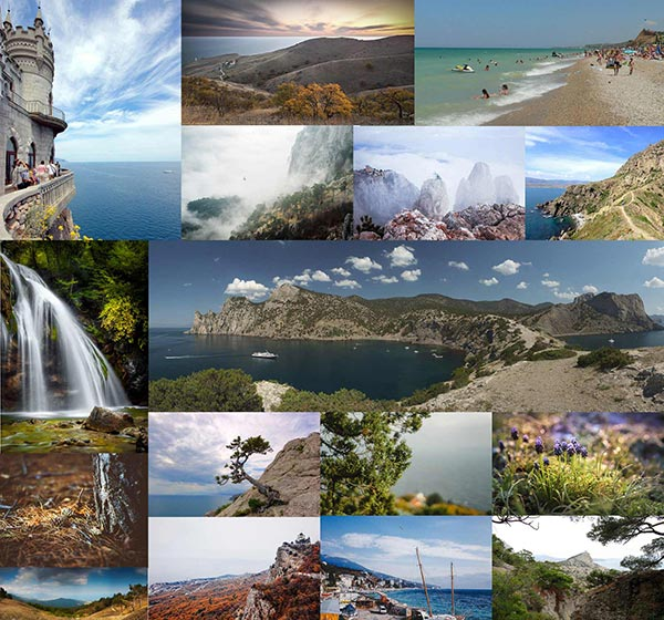 TOP-10 Places Of Russia. Krym