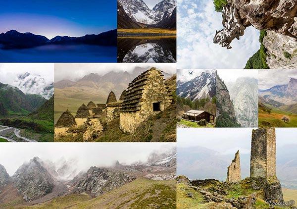 TOP-10 Places Of Russia. Severnaya Osetia