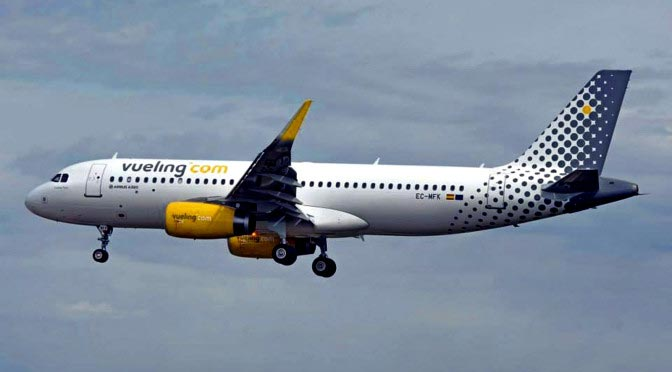 Обзор авиакомпании Vueling