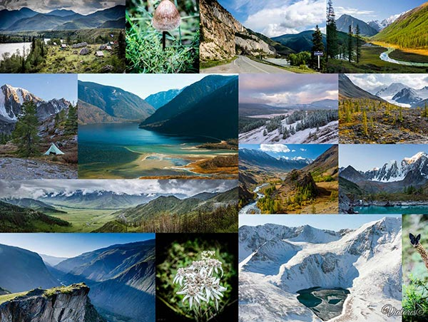 TOP-10 Places Of Russia. Altay