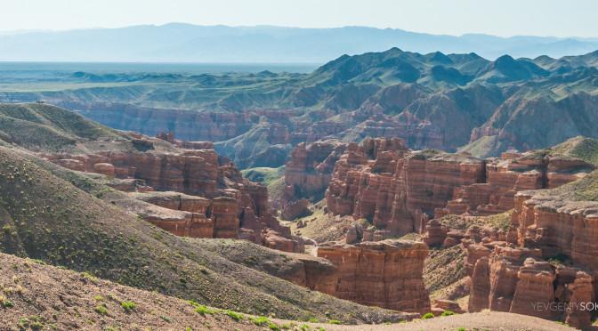 Чарынский каньон в Казахстане