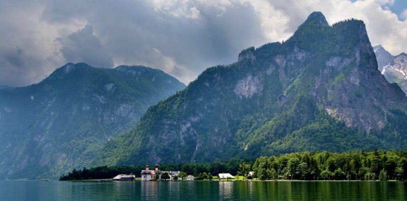 Озеро Кёнигзее. Lake Konigssee. Germany