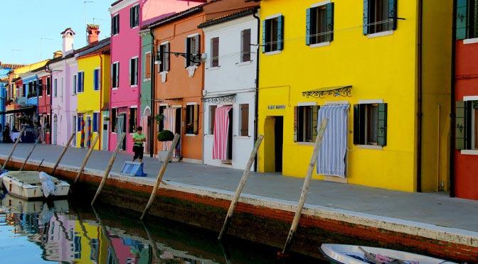 Бурано — яркий остров Венеции