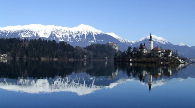 Bled Lake. Озеро Блед