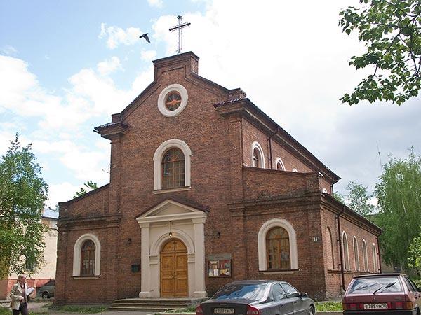 Храм Божьей Матери Неустанной Помощи. Петрозаводск