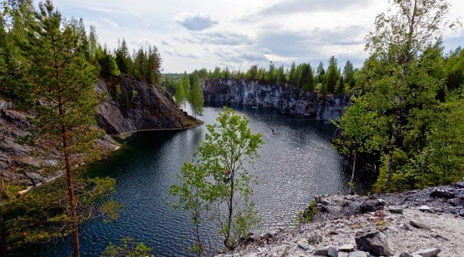 Ruskeala. Karelia