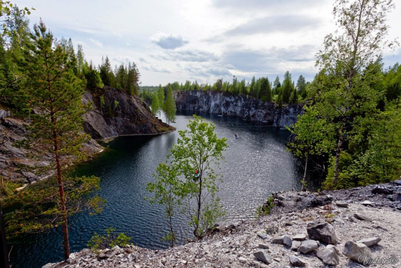 Ruskeala. Karelia. Russia