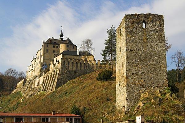 Český Šternberk. Czech Republic