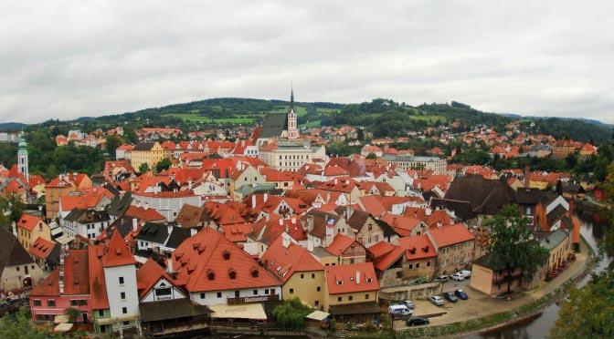 Český Krumlov. Česká republika
