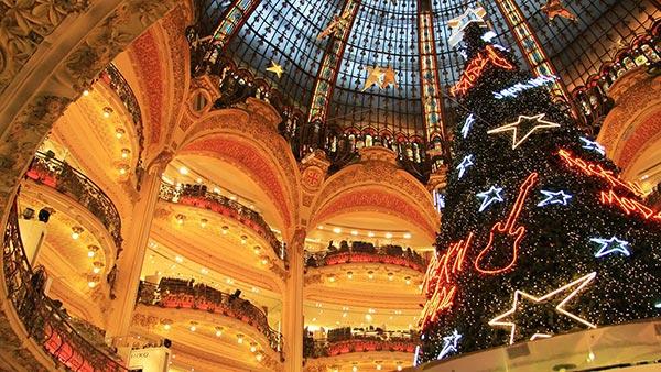 Galeries Lafayette. Paris