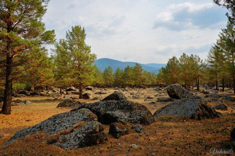 Ининский сад камней. Баргузинская долина. Ininskij sad kamney. Baikal. Russia