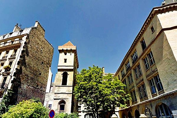 Jean sans Peur Tower. Paris
