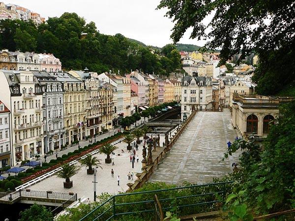Karlovy Vary. Česká republika