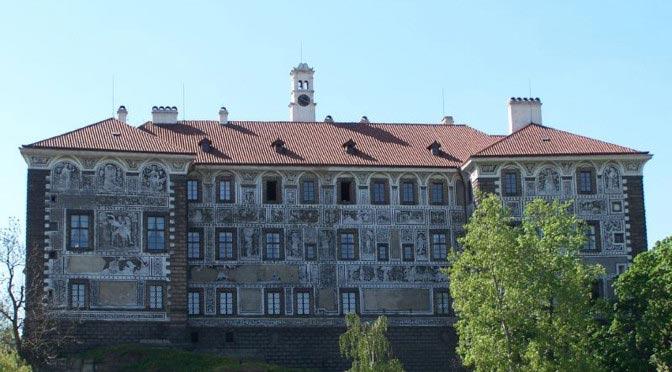 Куда съездить из Праги на один день? Замок Нелагозевес