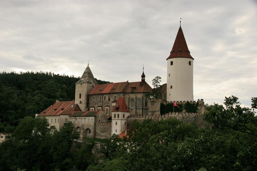 Zámek Křivoklát. Czech Republic