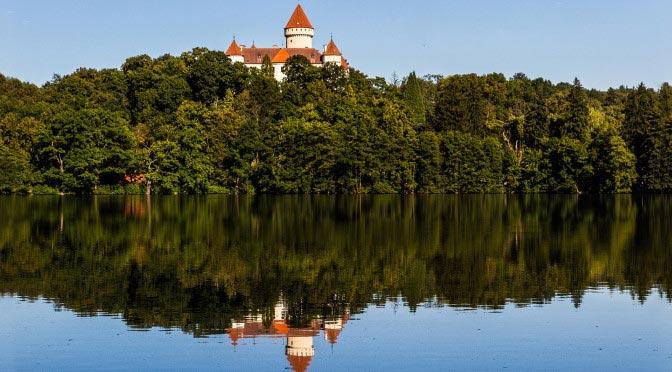 Куда съездить из Праги на один день? Замок Конопиште