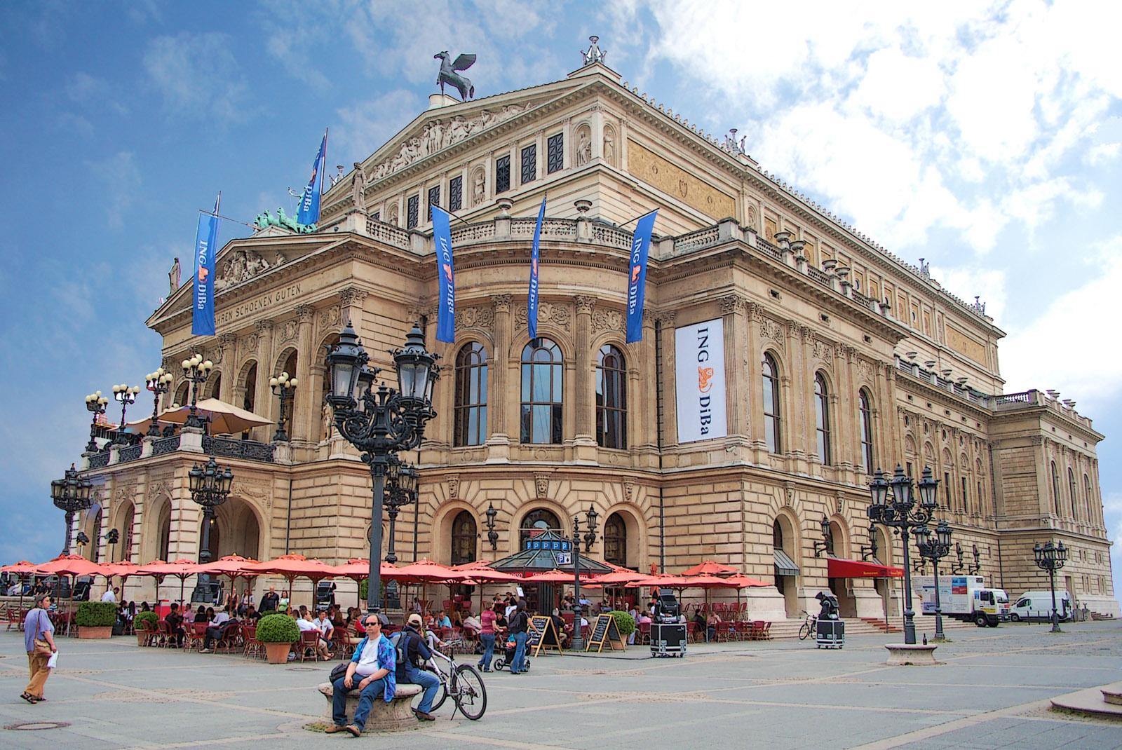 Alte Oper. Frankfurt Am Main. Germany