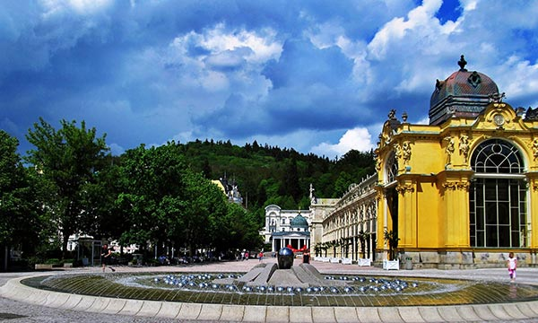 Marianske-Lezne. Czech Republic