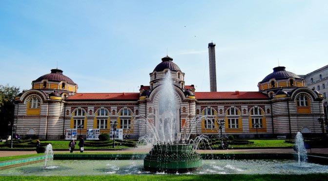 Centralnaya mineralnaya banya. Sofia
