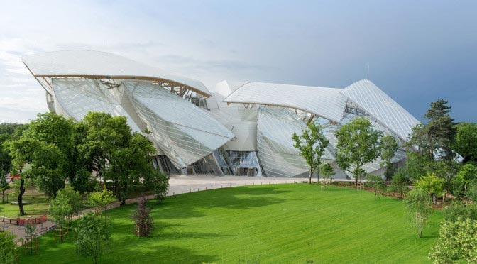 Fondation Louis Vuitton. Paris