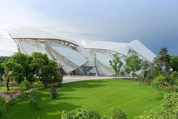Фонд Луи Виттон. Foundation Louis Vuitton.