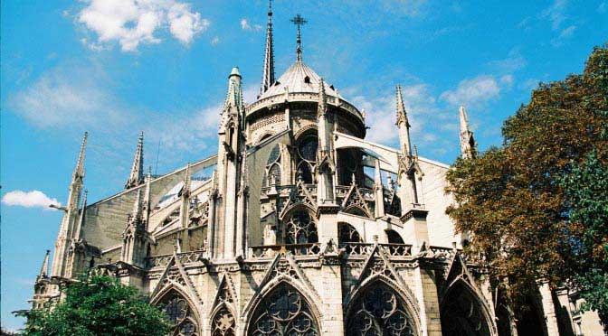Notre-Dame de Paris. Paris