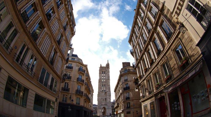 Tour Saint-Jacques. Paris