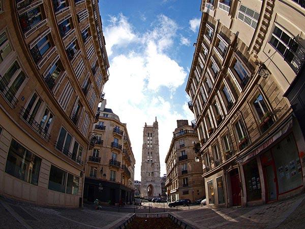 Tour Saint-Jacques. Paris