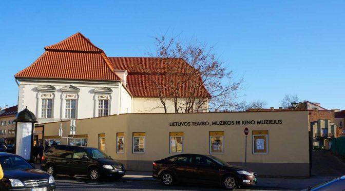 Музей Литовского театра, музыки и кино (Lietuvos teatro, muzikos ir kino muziejus)