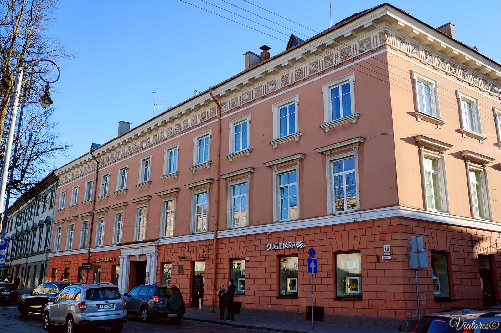 Дворец-Тизенгаузов (Tyzenhauzų-rūmai)