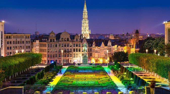 Маршрут прогулки по Брюсселю