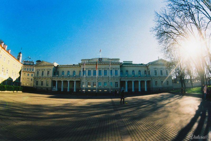 Radvilų rūmai.Vilnius. Lithuania