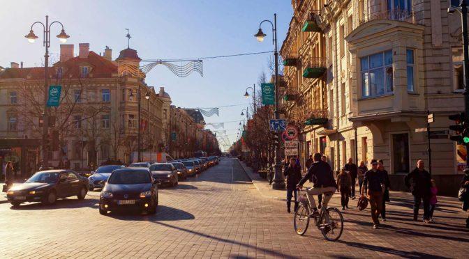 Проспект Гедимина. Вильнюс