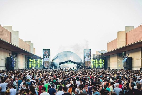 Sonar Festival. Spain