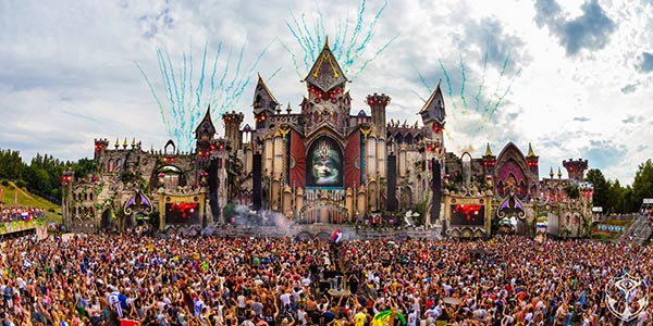 Tomorrowland Festival. 2016