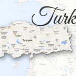 turkey map viatores