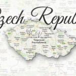 Czech Republic map Viatores