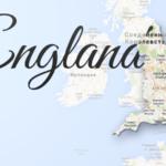 England Map Viatores